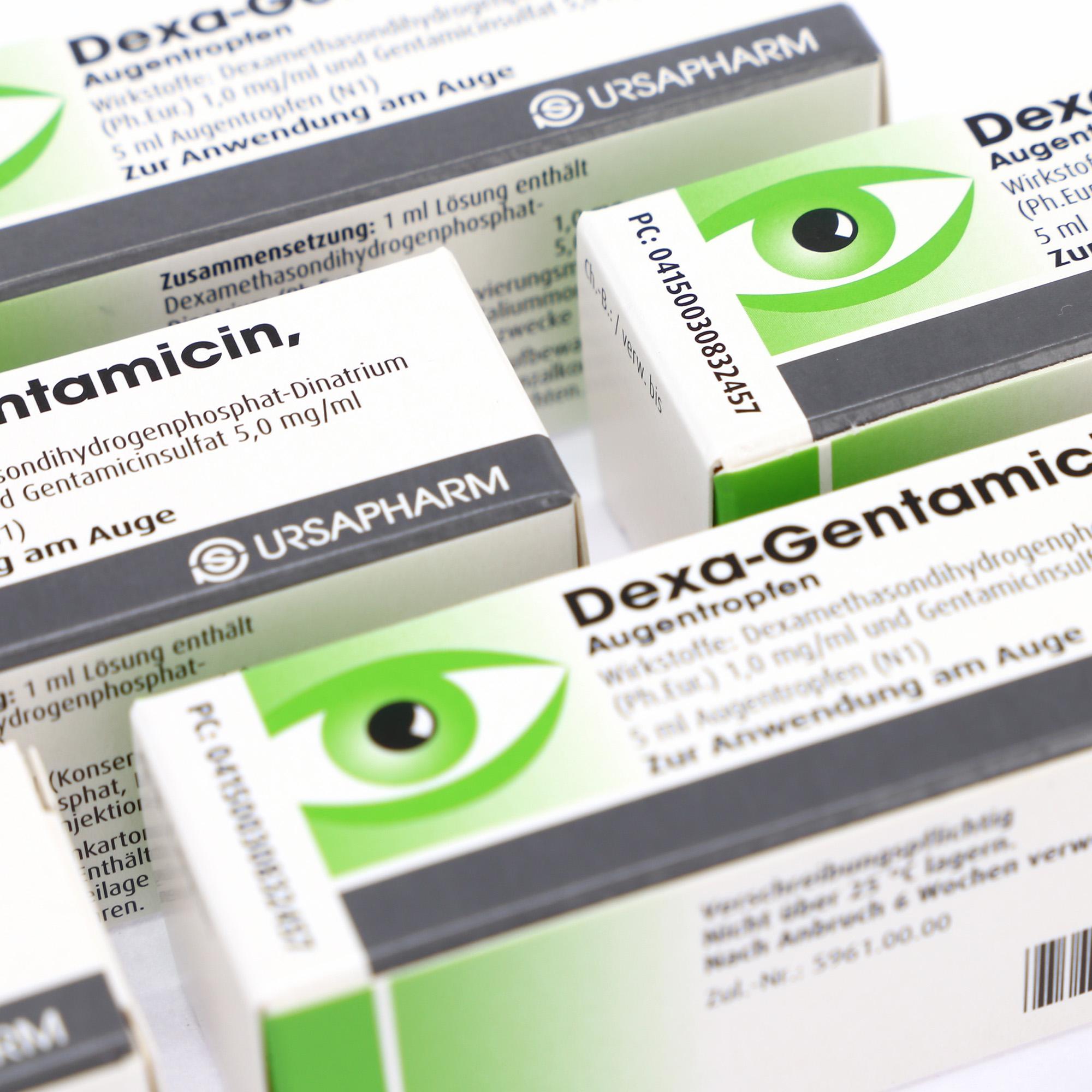 Verpackungen Pharmazie / Arzneimittelverpackungen / Braille / Blindenschriftpunkte / Schutz vor Untermischung